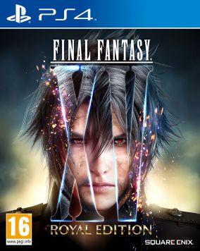 Copertina del gioco Final Fantasy XV: Royal Edition per Playstation 4