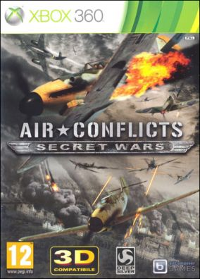 Copertina del gioco Air Conflicts Secret Wars per Xbox 360
