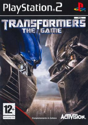 Immagine della copertina del gioco Transformers: The Game per PlayStation 2