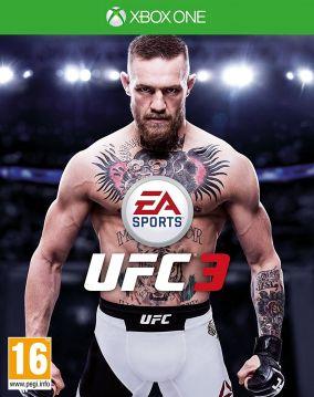 Copertina del gioco EA Sports UFC 3 per Xbox One