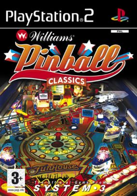 Copertina del gioco Williams Pinball Classics per PlayStation 2