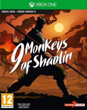 Copertina del gioco 9 Monkeys of Shaolin per Xbox One