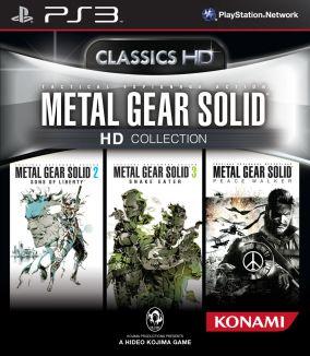 Copertina del gioco Metal Gear Solid HD Collection per PlayStation 3