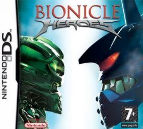 Immagine della copertina del gioco Bionicle Heroes per Nintendo DS