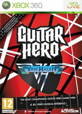 Copertina del gioco Guitar Hero: Van Halen per Xbox 360