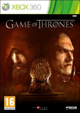 Copertina del gioco Game of Thrones per Xbox 360