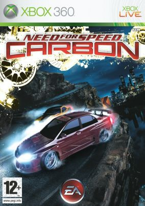 Immagine della copertina del gioco Need for Speed Carbon per Xbox 360