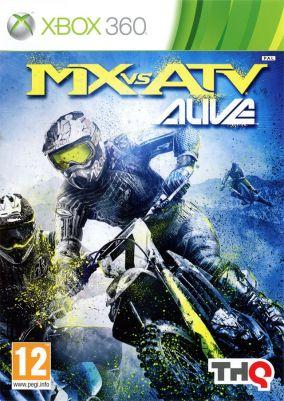 Copertina del gioco MX vs ATV Alive per Xbox 360