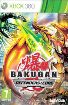 Copertina del gioco Bakugan Battle Brawlers: I Difensori della Terra per Xbox 360