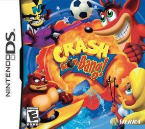 Immagine della copertina del gioco Crash Boom Bang! per Nintendo DS