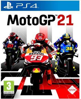 Copertina del gioco MotoGP 21 per PlayStation 4