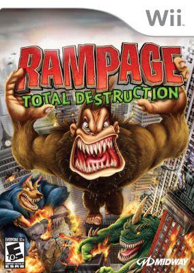 Immagine della copertina del gioco Rampage: Total Destruction per Nintendo Wii