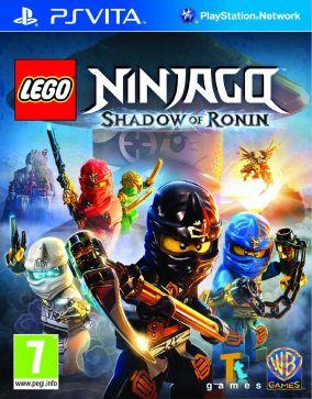 Copertina del gioco LEGO Ninjago: L'ombra di Ronin per PSVITA