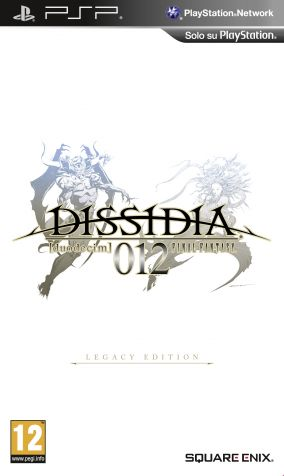 Copertina del gioco Dissidia 012: Final Fantasy per Playstation PSP