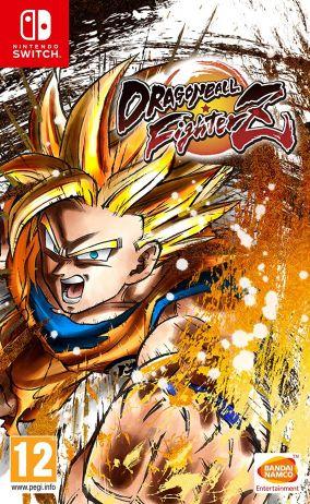 Immagine della copertina del gioco Dragon Ball FighterZ per Nintendo Switch