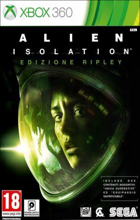 Immagine della copertina del gioco Alien: Isolation per Xbox 360