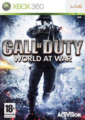 Immagine della copertina del gioco Call of Duty: World at War per Xbox 360