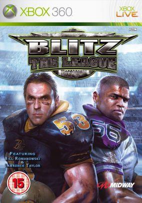 Immagine della copertina del gioco Blitz: The League per Xbox 360