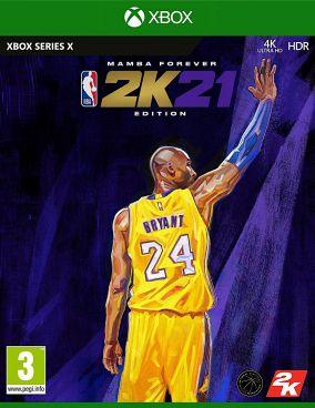 Copertina del gioco NBA 2K21 per Xbox Series X