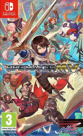 Immagine della copertina del gioco RPG Maker MV per Nintendo Switch
