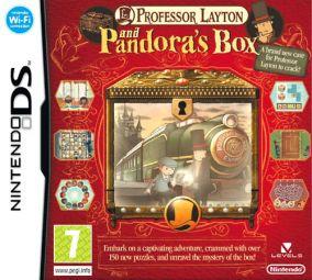 Immagine della copertina del gioco Il Professor Layton e lo Scrigno di Pandora per Nintendo DS