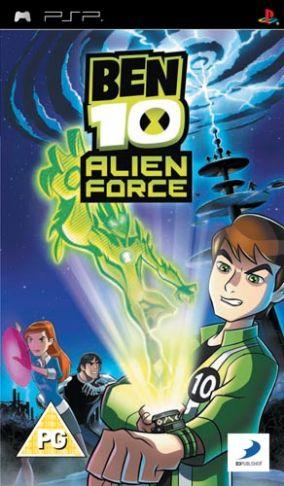 Immagine della copertina del gioco Ben 10: Alien Force - The Game per PlayStation PSP