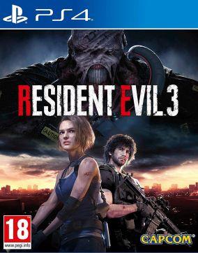 Copertina del gioco Resident Evil 3 per PlayStation 4