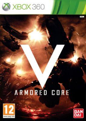 Copertina del gioco Armored Core V per Xbox 360
