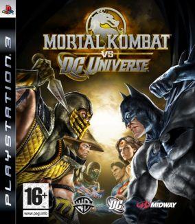 Immagine della copertina del gioco Mortal Kombat Vs DC Universe per PlayStation 3