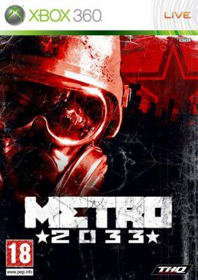Copertina del gioco Metro 2033 per Xbox 360