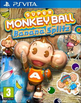 Immagine della copertina del gioco Super Monkey Ball Banana Splitz per PSVITA