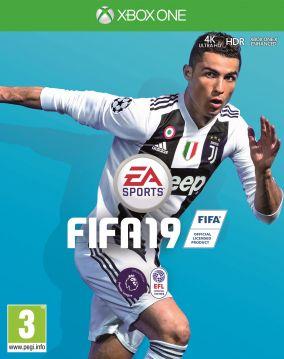 Immagine della copertina del gioco FIFA 19 per Xbox One