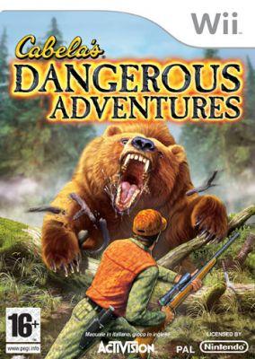 Immagine della copertina del gioco Cabela's Dangerous Adventures per Nintendo Wii