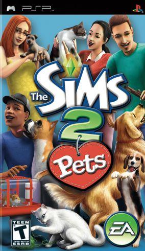Immagine della copertina del gioco The Sims 2 Pets per Playstation PSP