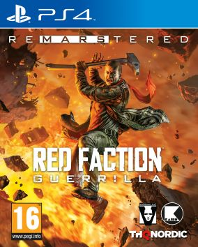 Immagine della copertina del gioco Red Faction Guerrilla Re-Mars-tered per PlayStation 4