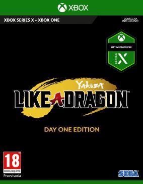Copertina del gioco Yakuza: Like a Dragon per Xbox Series X