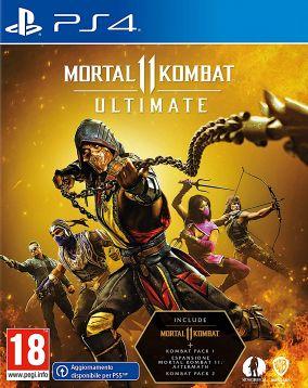 Immagine della copertina del gioco Mortal Kombat 11 Ultimate per PlayStation 4