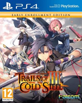 Immagine della copertina del gioco The Legend of Heroes: Trails of Cold Steel III per PlayStation 4
