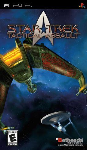 Immagine della copertina del gioco Star Trek: Tactical Assault per PlayStation PSP