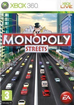 Copertina del gioco Monopoly Streets per Xbox 360