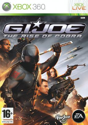 Copertina del gioco G.I. JOE per Xbox 360