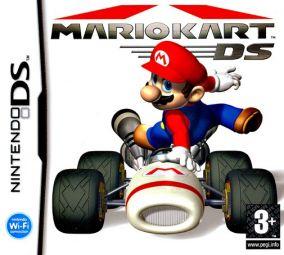 Immagine della copertina del gioco Mario Kart DS per Nintendo DS