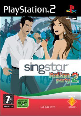 Immagine della copertina del gioco SingStar Italian Party 2 per PlayStation 2