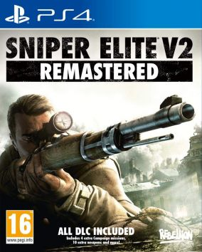 Copertina del gioco Sniper Elite V2 Remastered per PlayStation 4