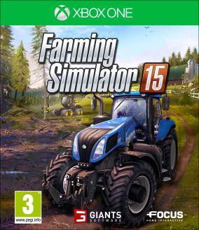 Immagine della copertina del gioco Farming Simulator 15 per Xbox One
