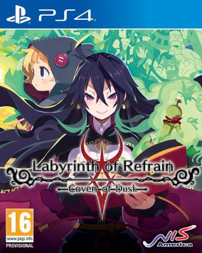 Copertina del gioco Labyrinth of Refrain: Coven of Dusk per PlayStation 4