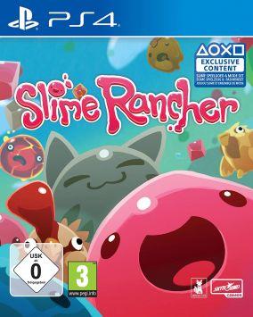 Copertina del gioco Slime Rancher per PlayStation 4