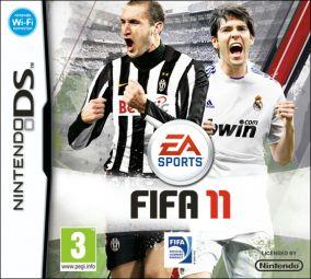 Immagine della copertina del gioco FIFA 11 per Nintendo DS