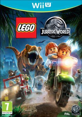 Immagine della copertina del gioco LEGO Jurassic World per Nintendo Wii U