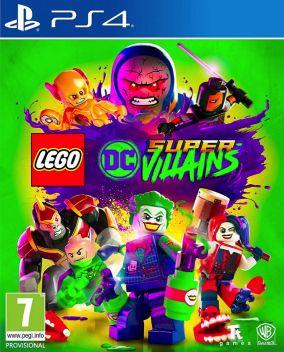 Immagine della copertina del gioco LEGO DC Super-Villains per PlayStation 4